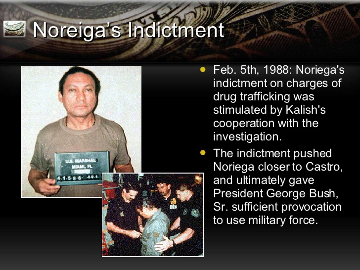 Image result for Noriega had been indicted in the U.S. on drug trafficking charges